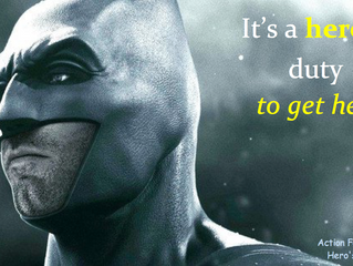 Batman goes to rehab. He inspires those in need of drug and alcohol addiction treatment to get help.