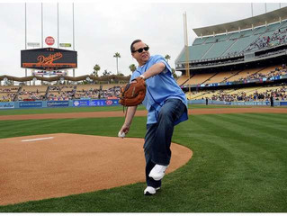 Dodgers First Pitch!