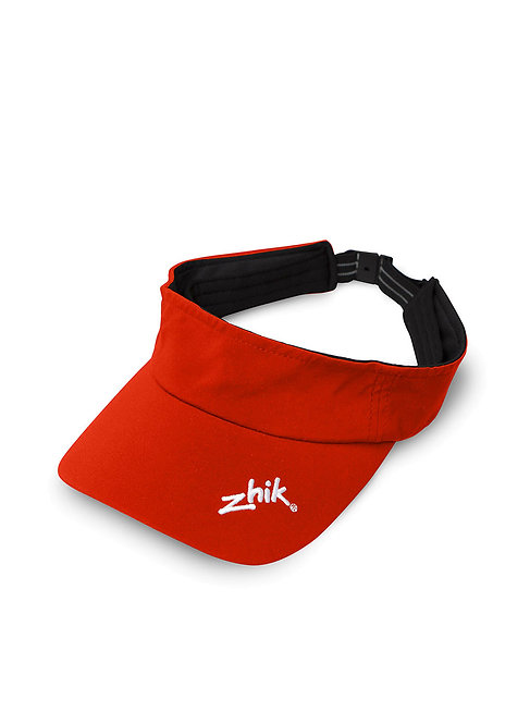 STRUCTURED VISOR - FLAME RED
