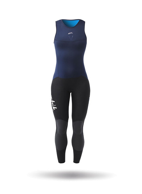 WOMENS MICROFLEECE V SKIFF SUIT