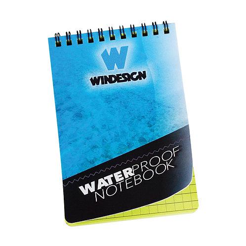 WATERPROOF NOTEBOOK 10 x 15 CM