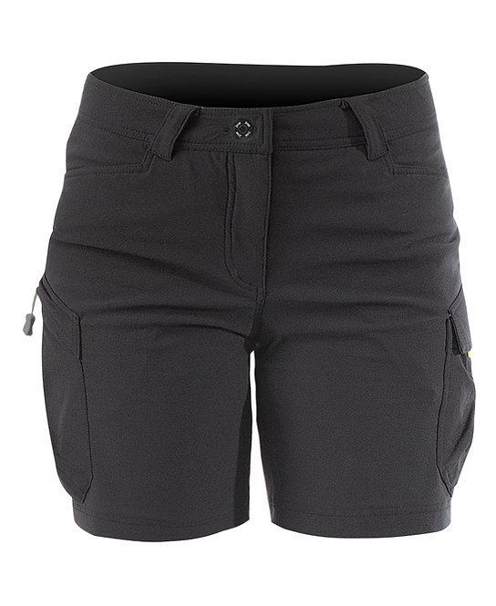 WOMENS HARBOUR SHORTS - BLACK