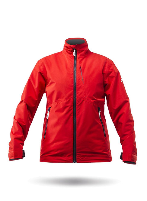 WOMENS Z-CRU JACKET - FLAME RED