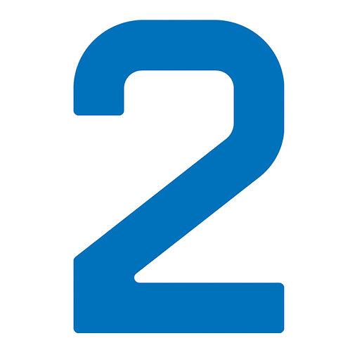 BLUE SAILNUMBER 23.5 CM