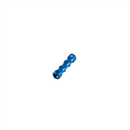 6MM DOG BONE - BLUE