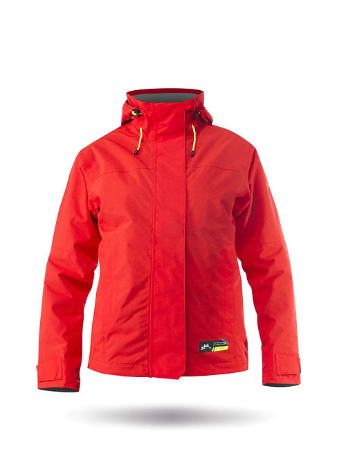WOMENS KIAMA JACKET RED