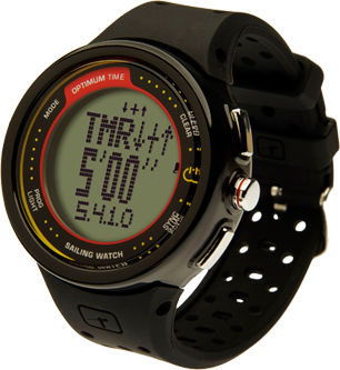1231R PLASTIC RECHARGEABLE SAILING WATCH