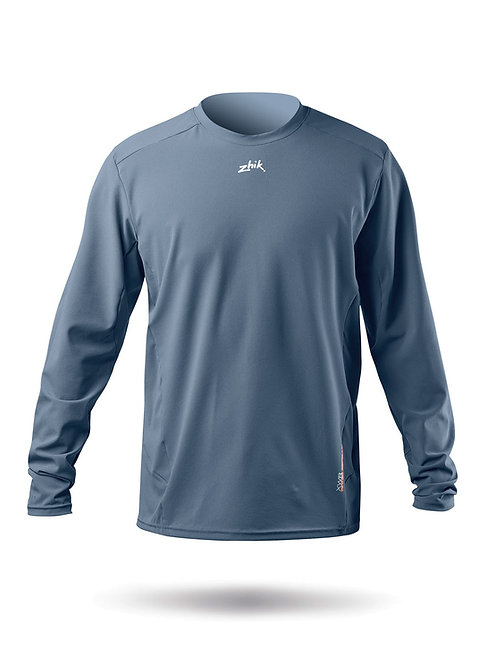 MENS LONG SLEEVE XWR TOP - COOL GREY