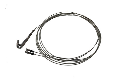 HOOK IN TRAPEZE WIRES (PAIR)