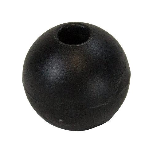 STOPPER BALL BLACK 6/22 mm