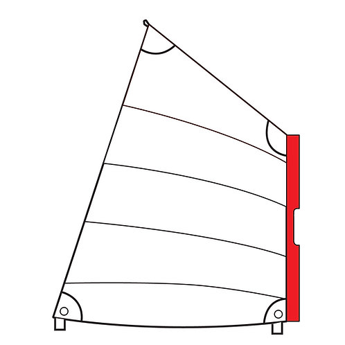 OPTIMIST SLEEVE POCKET SAIL OPTIPARTS