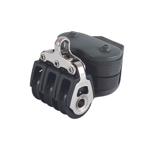 30MM DYNAMIC TRIPLE BLOCK WITH INVERTED CLEAT