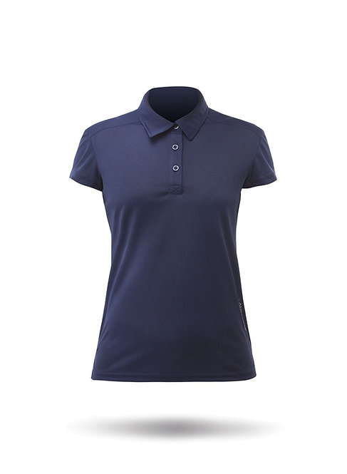 WOMENS SHORT SLEEVE ZHIKDRY LT POLO
