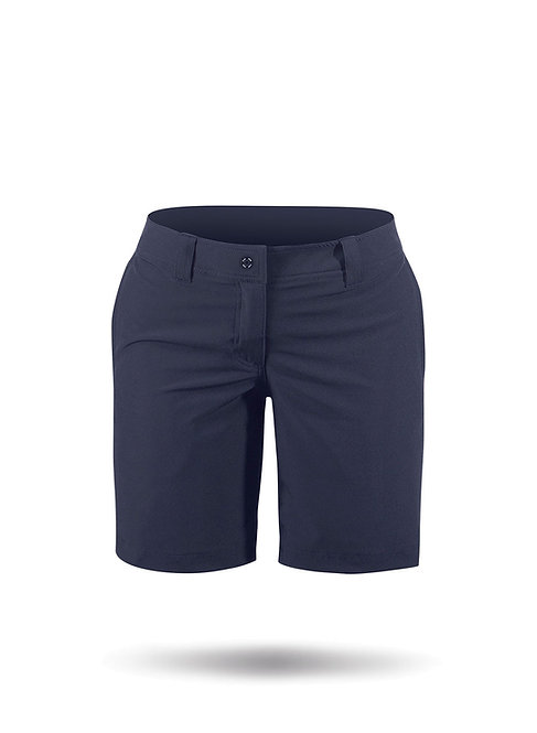 WOMENS MARINE SHORTS - NAVY BLUE