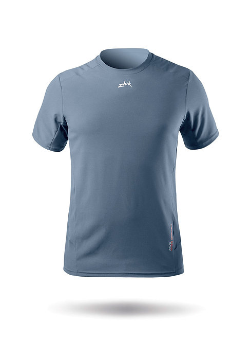 MENS SHORT SLEEVE XWR TOP - COOL GREY