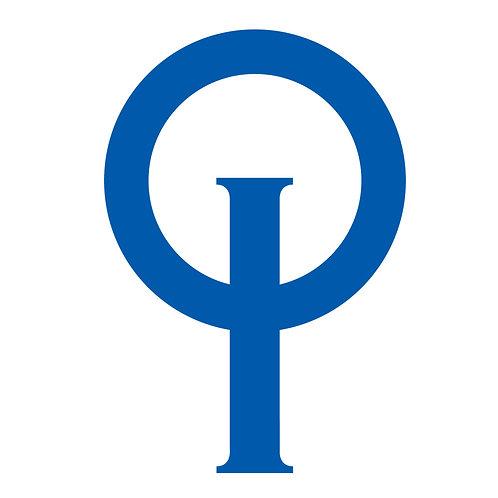 OPTIMIST CLASS LOGO BLUE - 2 PIECES