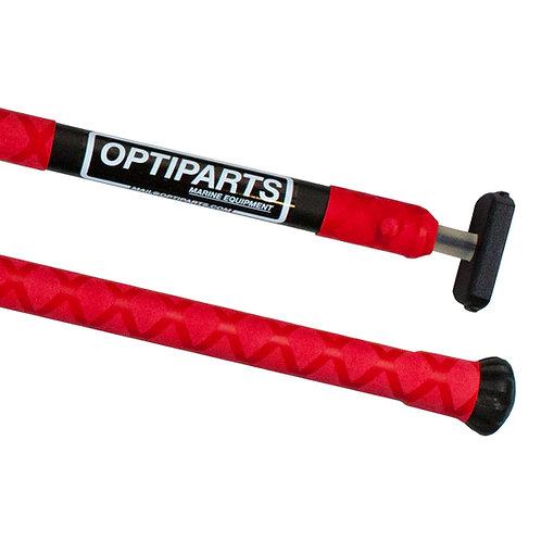 OPTIMIST TILLER EXTENSION 20 MM X-GRIPPED – RED