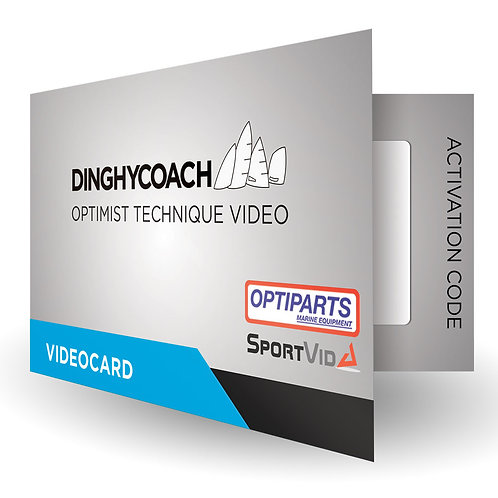 DINGHYCOACH OPTIMIST TECHNIQUE VIDEOCARD