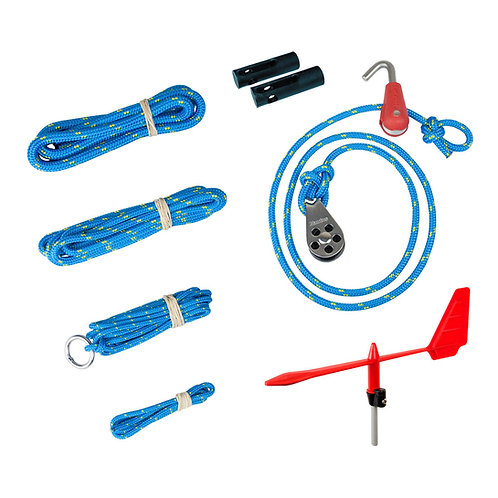 OPTIMIST RIGGING PACK SILVER MASTS OPTIPARTS