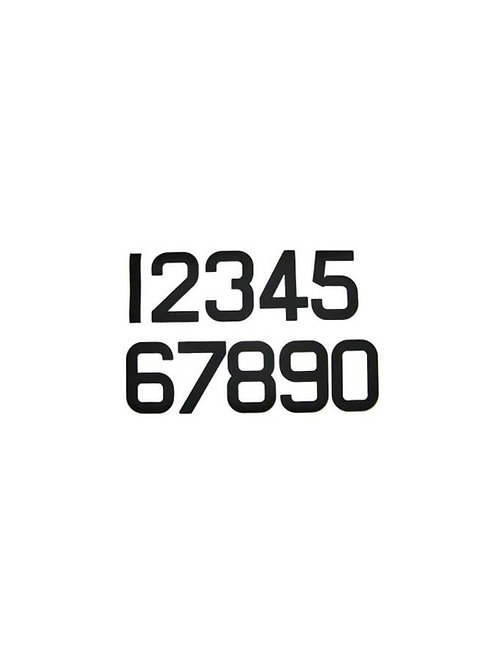ILCA 4 SAIL NUMBERS BLACK (0…9) each