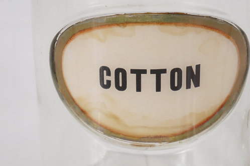 Glasco Apothecary Cotton Canister