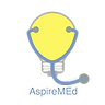 AspireMEd logo with shadow small copyrig