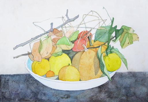 柚子と南瓜