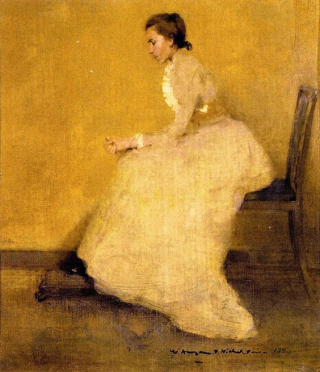 The Lady in Yellow, 1893