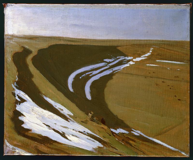 Snow in the Horseshoe, 1927