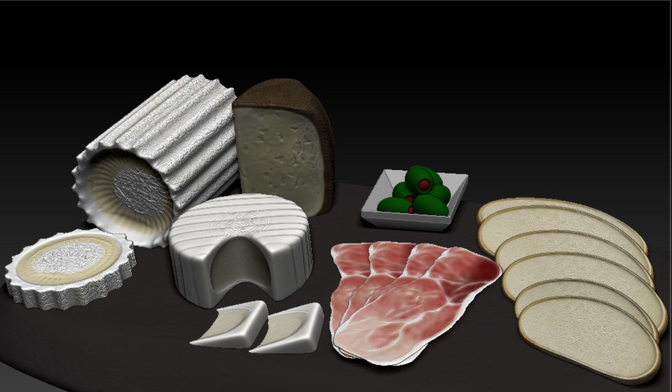 1st Zbrush Assignment