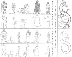 Character Design based on shape