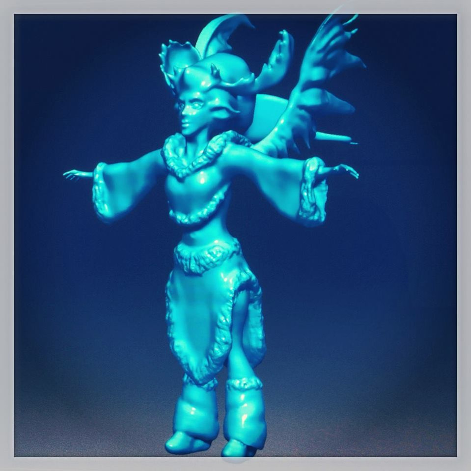 1st Zbrush project
