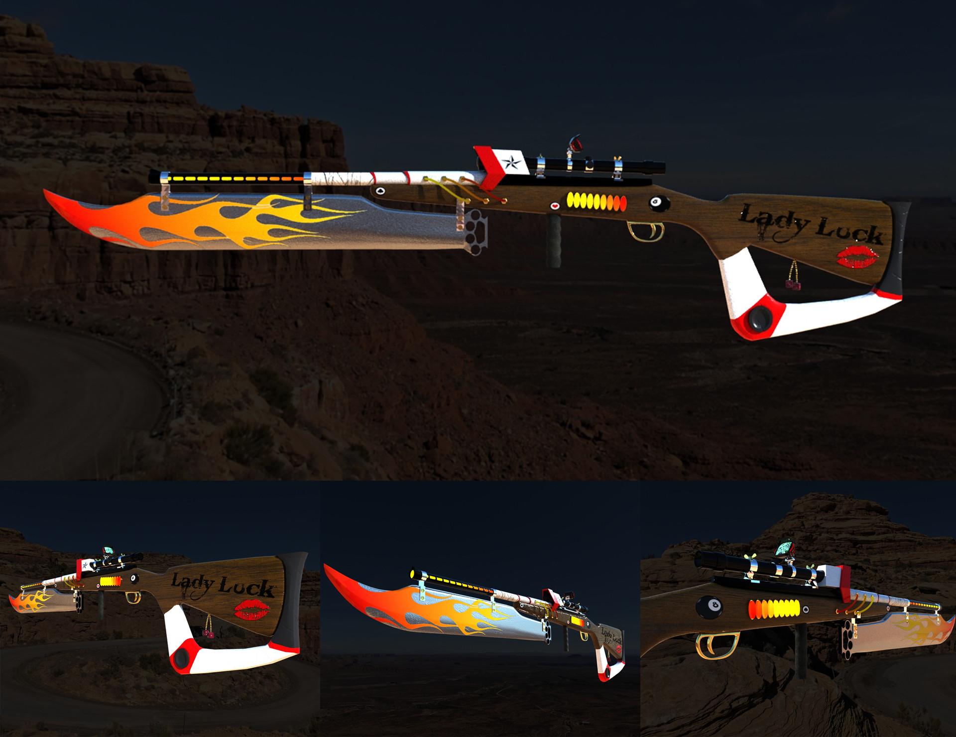 Ridiculus Energy Gunblade