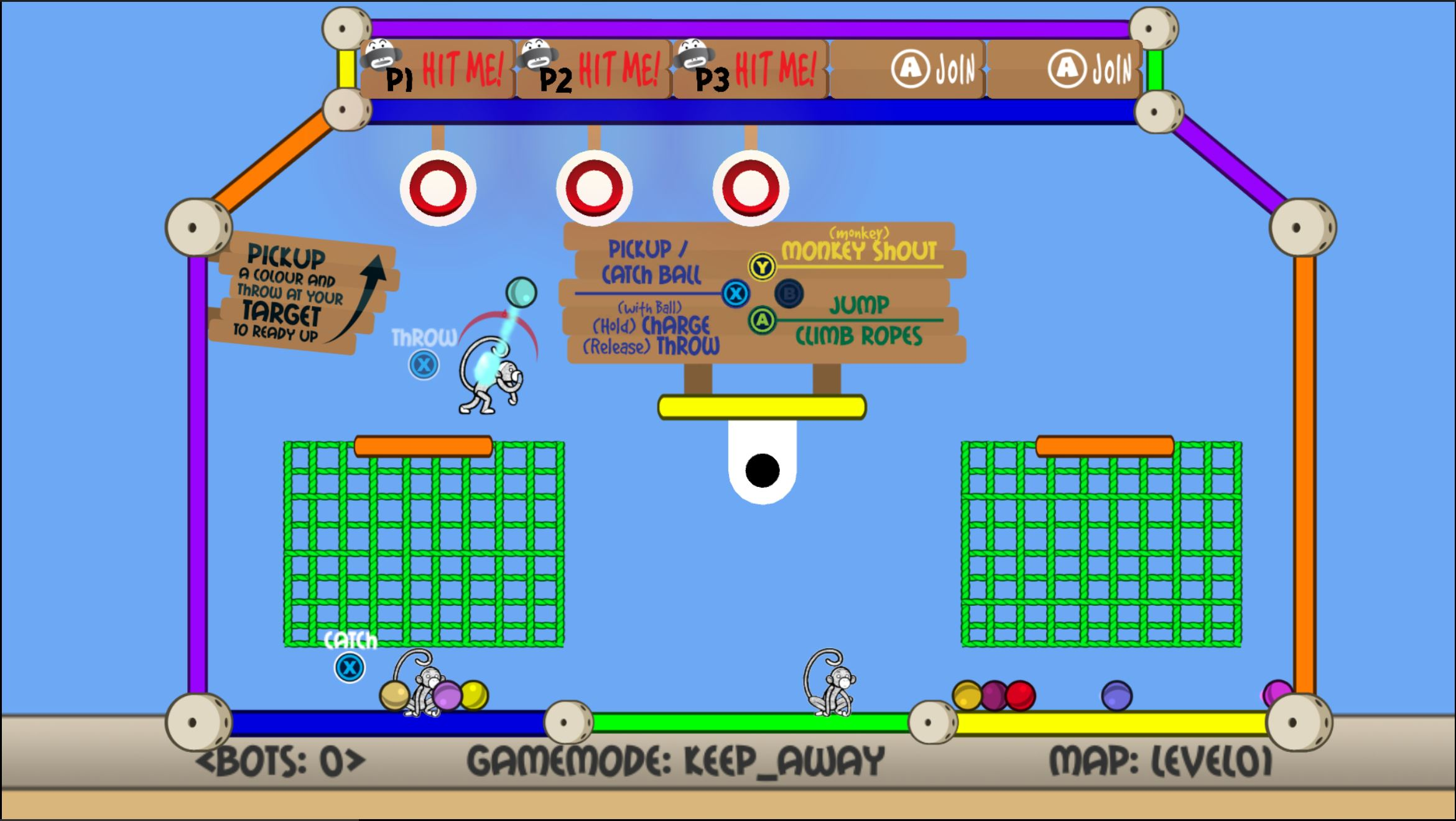 Student game Monkey Dome- Screenshot