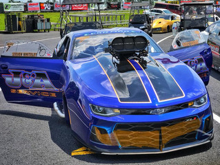 COLORADO NATIVE STEVEN WHITELEY DRIVES HIS ZL1 CAMARO IN PURSUIT OF HIS FIRST 2018 PRO MOD VICTORY T