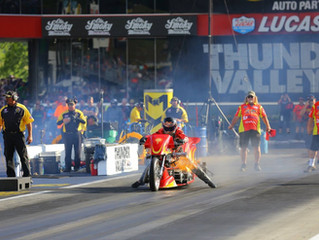 PTS Racing Competes With Rider Chris Smith for 2019 Top Fuel Harley Championship.