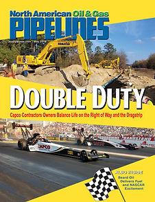 CAPCO Contractor Cover of North American Oil & Gas