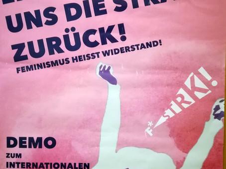 Demo zum internationalen Frauen*Kampftag