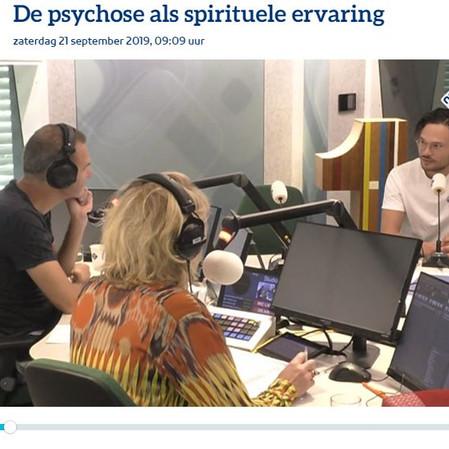 "Radio 1: ""psychose als spirituele ervaring"""