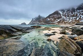 bigstock-Rocky-coast-of-fjord-of-Norweg-