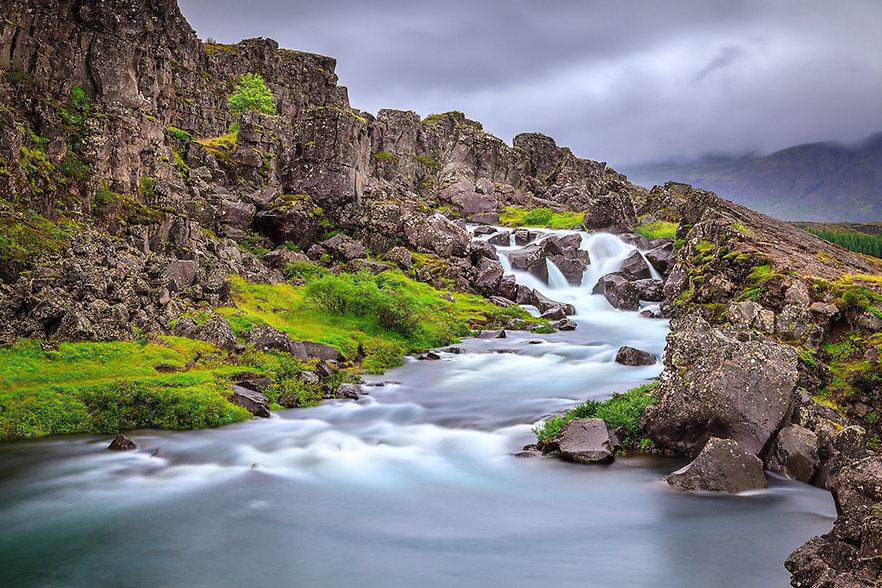 waterfall-in-thingvellir-national-park r