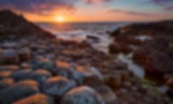 bigstock-sunset-over-basalt-columns-Gia-