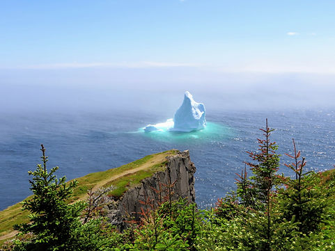 bigstock-Iceberg-Floating-Newfoundland-2
