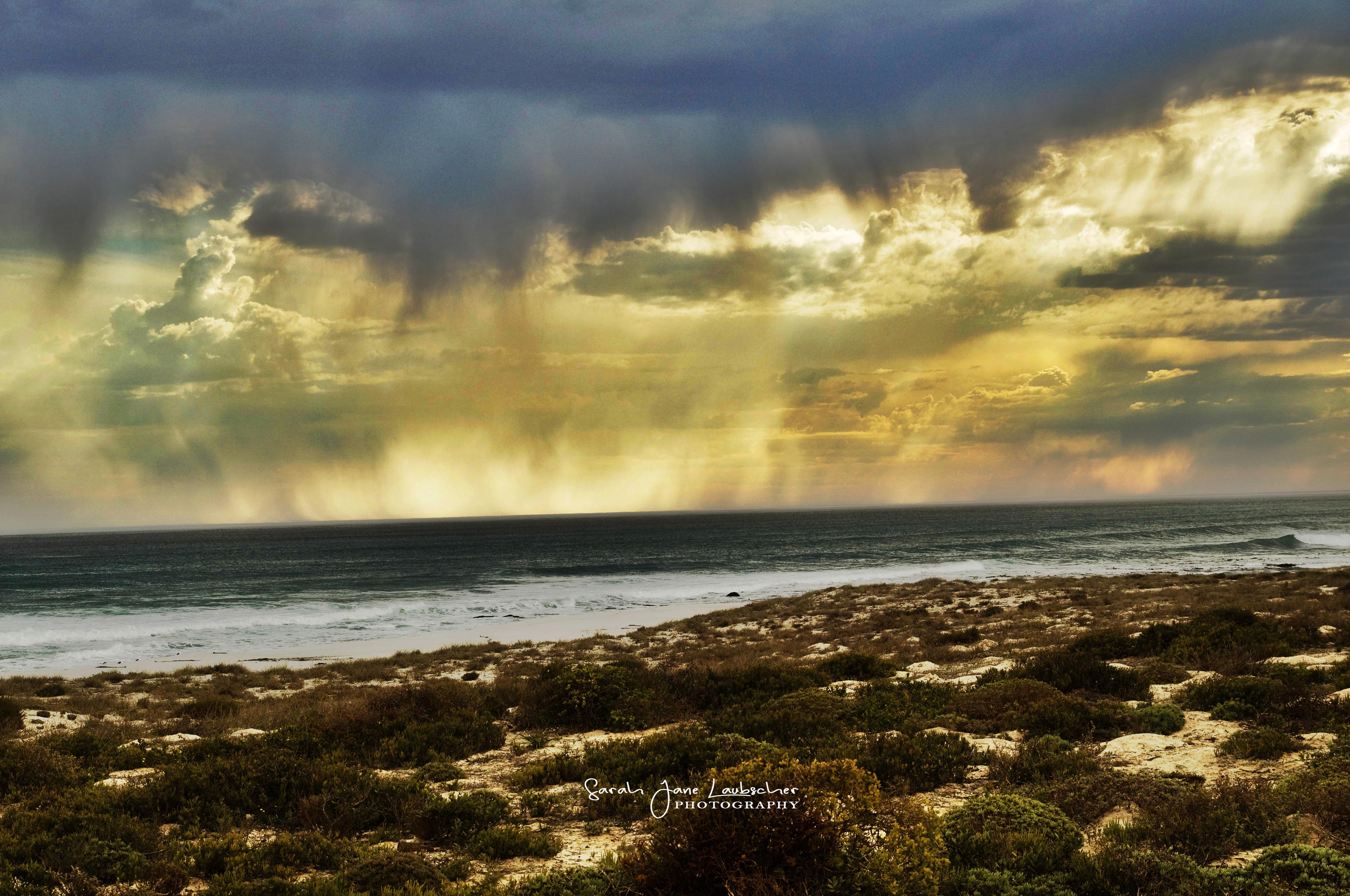 Storm at sea 1