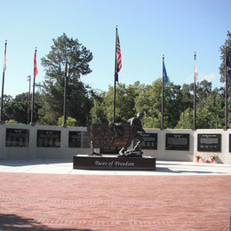 Face of Freedom Memorial constructed