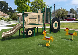 eagle scout project completed playground