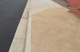 New gravel pedestrian pathway for the employees of Apio