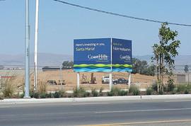 Santa Maria Development Review future site of Coast Hills Credit Union