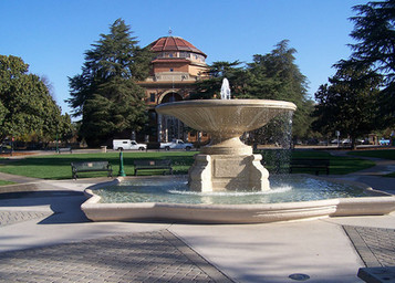 Fountain and City Hall