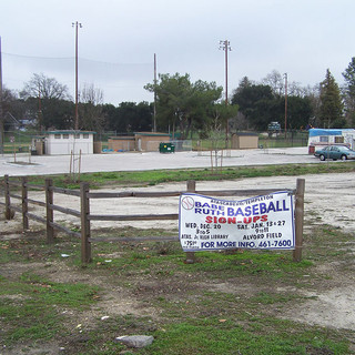 Empty City lot next to Alvord Field